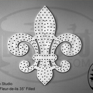 ChromaFleur-de-lis 35″ Filled