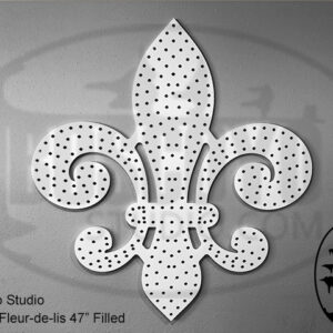 ChromaFleur-de-lis 47″ Filled